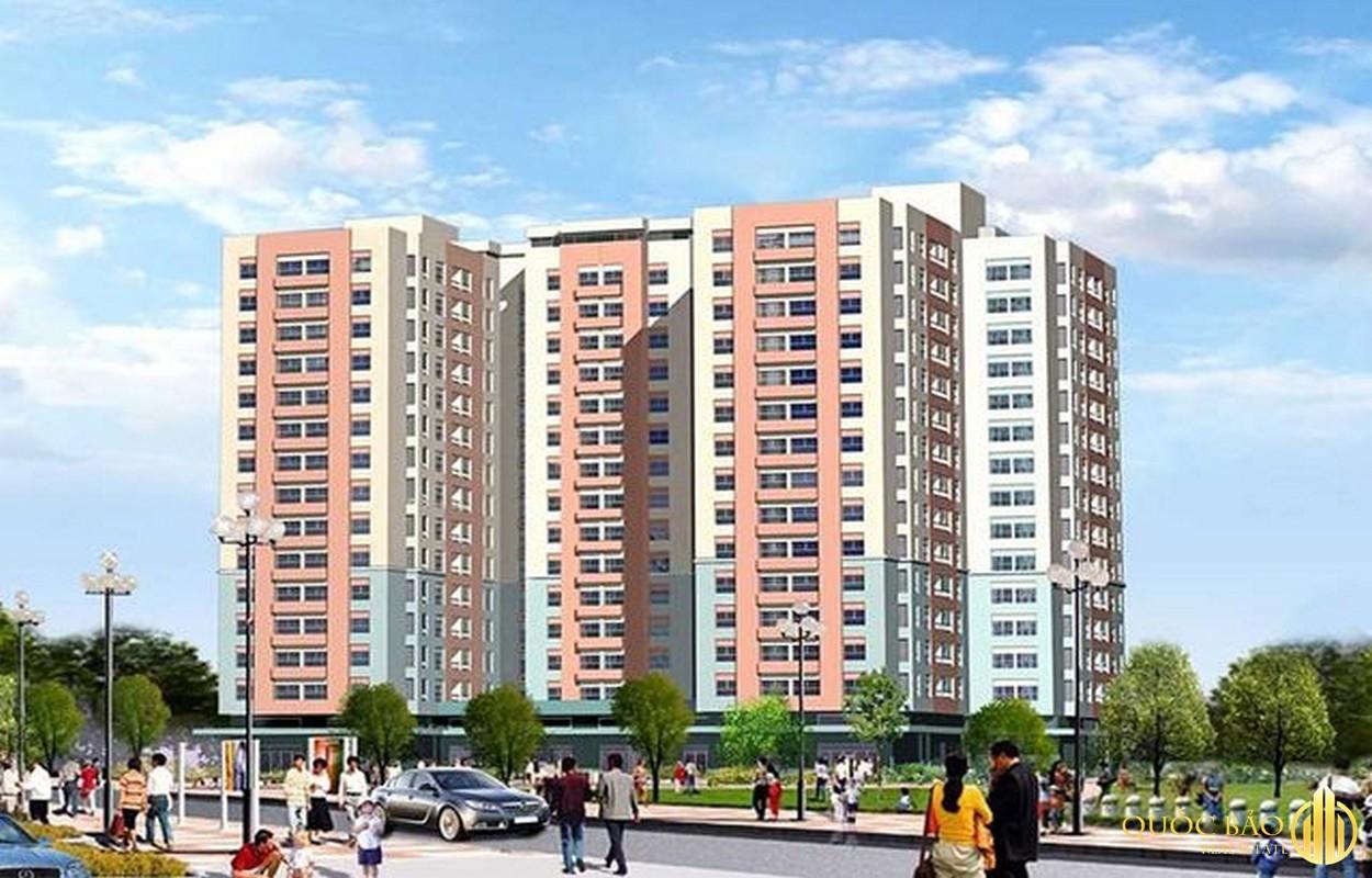 Phối cảnh Chung cư Khuông Việt - Dự án nổi bật thuộc quy hoạch Quận Tân Phú