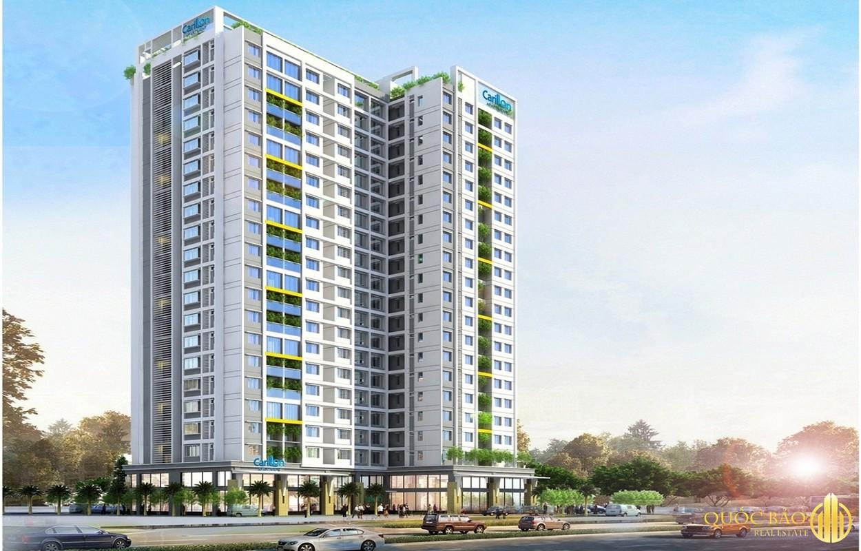 Phối cảnh Chung cư Carillon 5 - Dự án nổi bật thuộc quy hoạch Quận Tân Phú