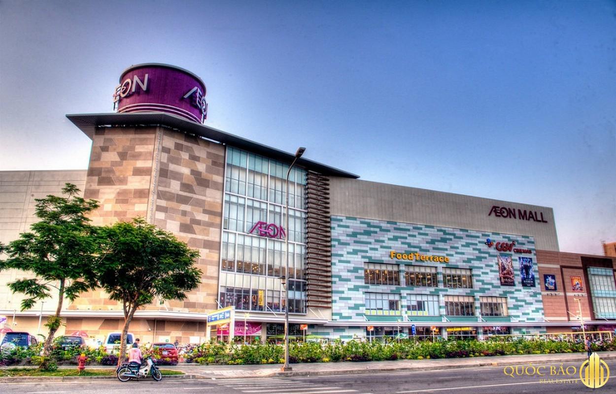 Quy hoạch Quận Tân Phú nổi bật với đại siêu thị Aeon Mall