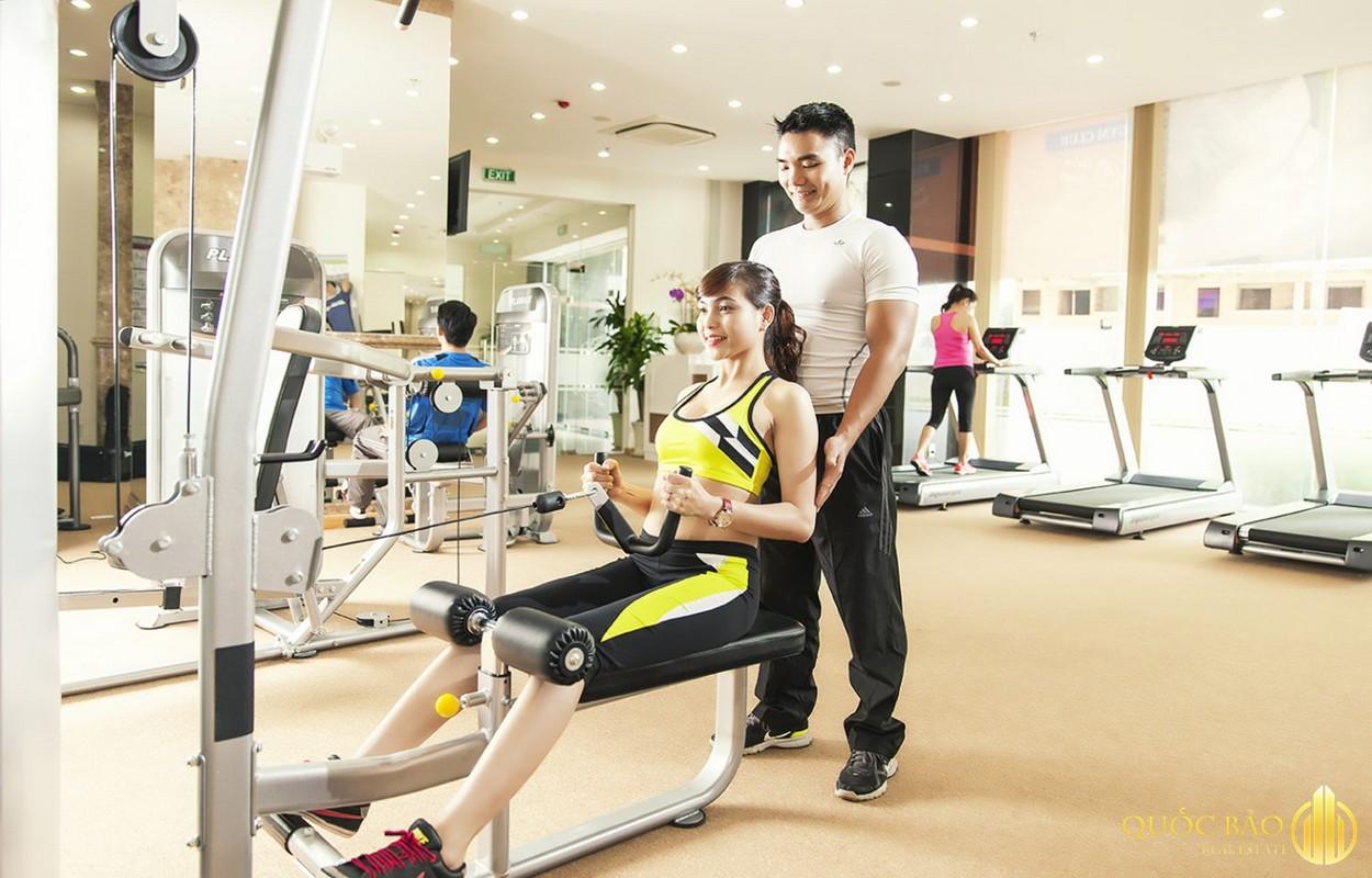 Spring Waterfront Nam Long Đồng Nai sở hữu tiện ích trung tâm thể thao, GYM, Yoga, Fitness