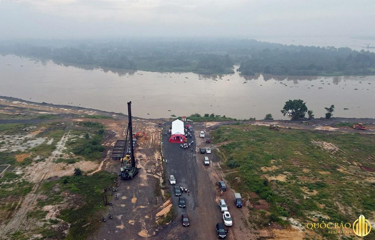 Ảnh thực tế tiến độ Spring Waterfront Nam Long Đồng Nai