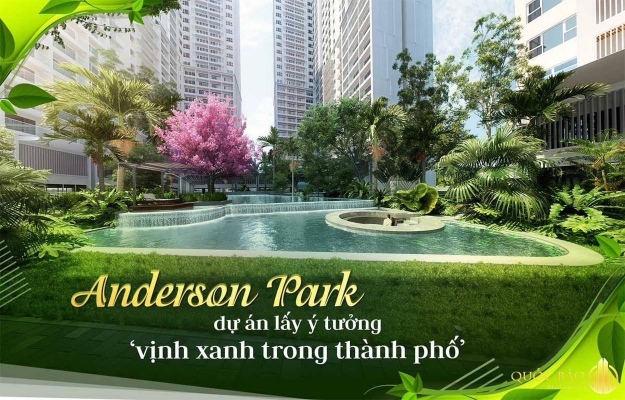 Anderson Park Bình Dương lấy ý tưởng mang vịnh xanh vào trong thành phố