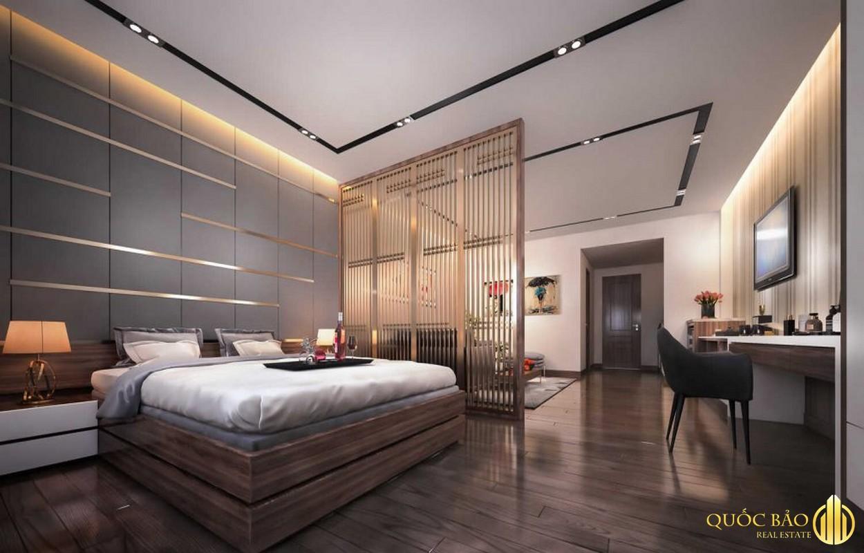 Phòng ngủ nhà mẫu Anderson Park Bình Dương