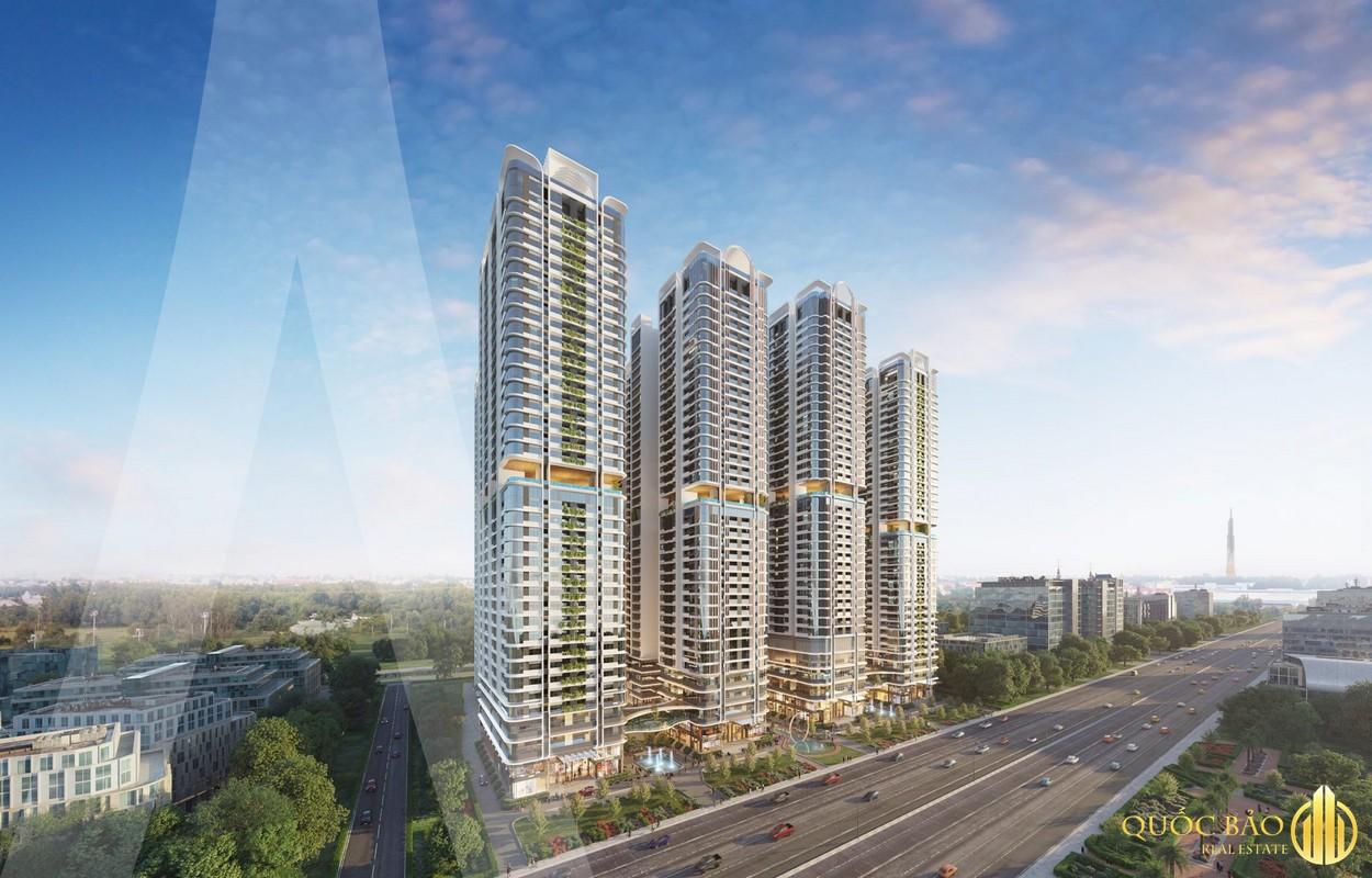 Giá bán Astral City Bình Dương từ 38 triệu/m2