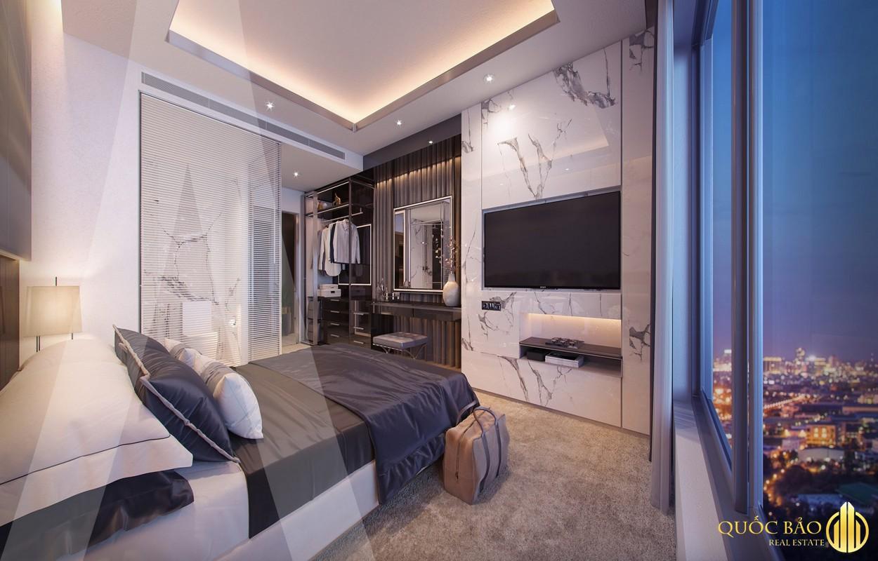 Thiết kế phòng ngủ nhà mẫu Astral City Bình Dương
