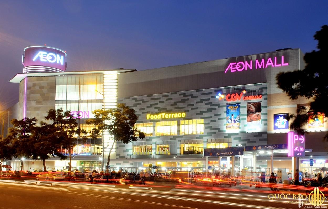 Từ Astral City dễ dàng đến trung tâm thương mại AEON Mall