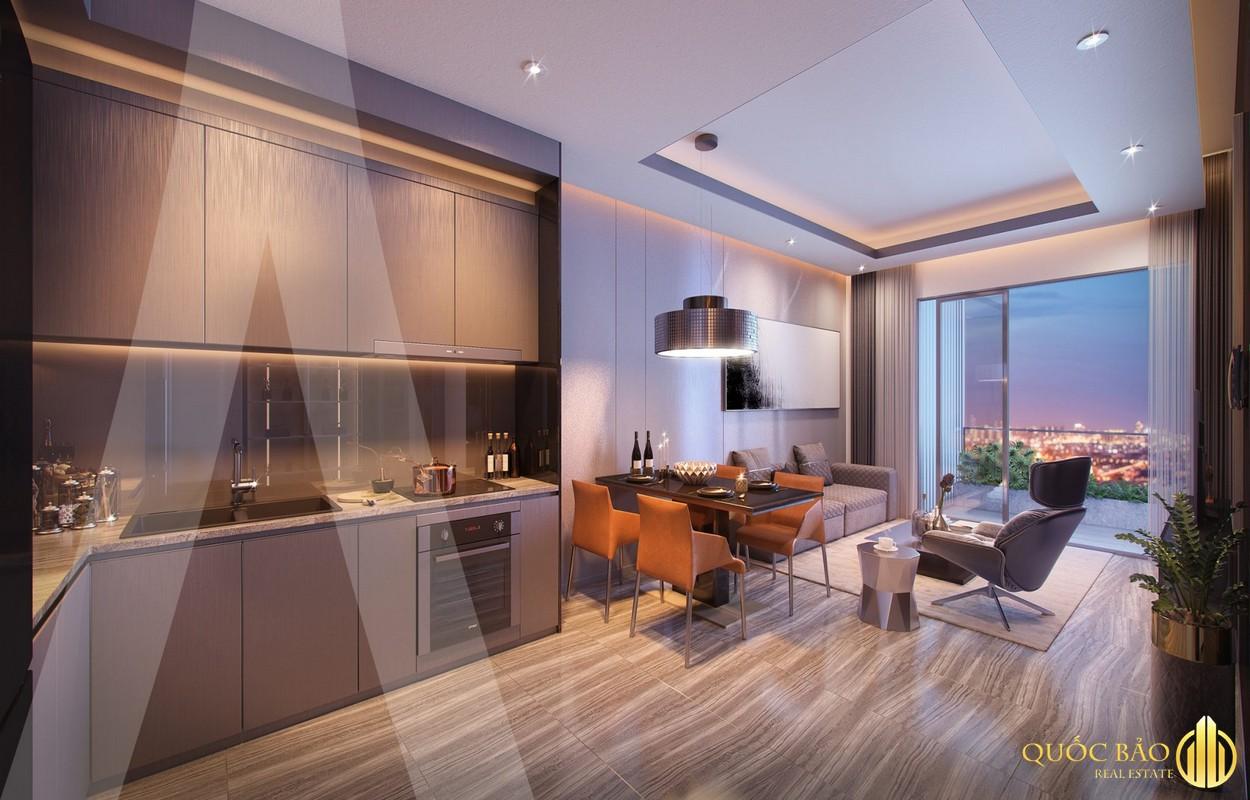Thiết kế phòng khách nhà mẫu Astral City Bình Dương