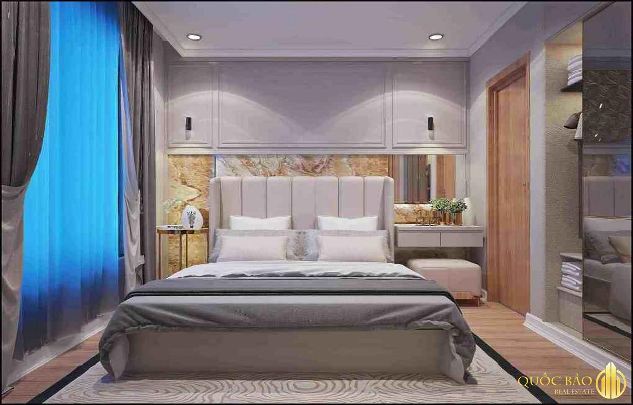 Thiết kế phòng ngủ nhà mẫu Bcons Suối Tiên Bình Dương
