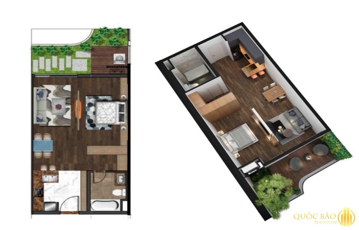 Thiết kế căn hộ diển hình