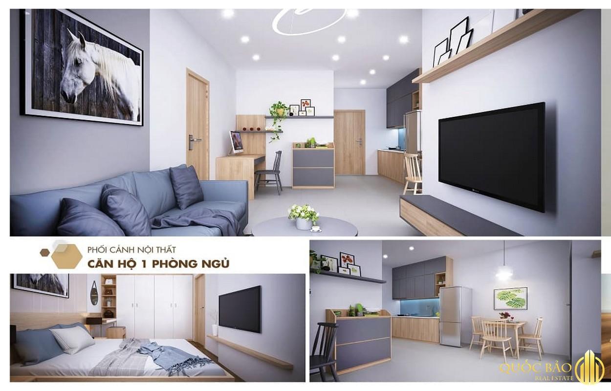 Nhà mẫu 1 phòng ngủ