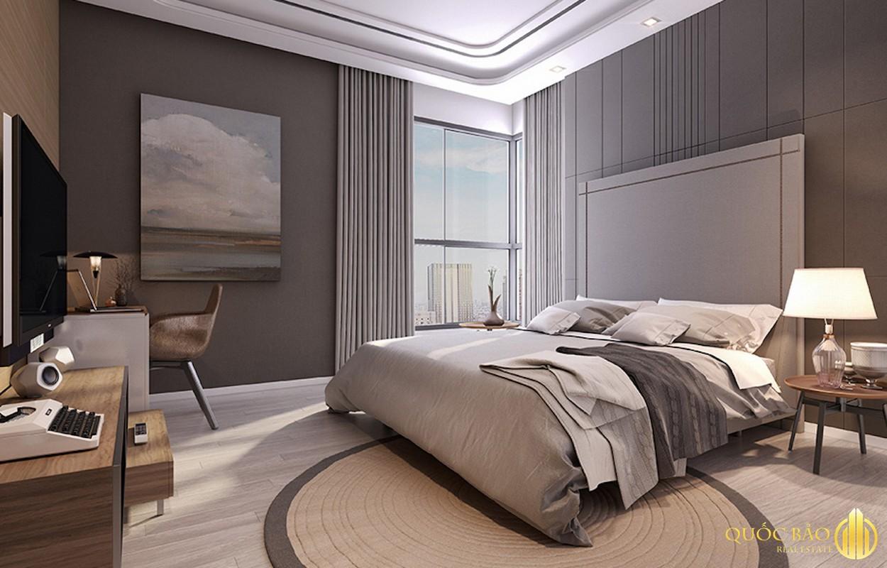 Phòng ngủ nhà mẫu dự án Opal Central Park Bình Dương