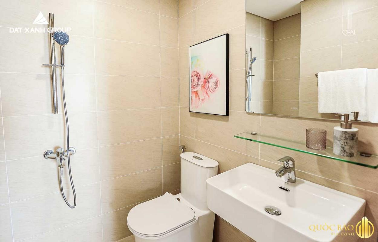 Thiết kế phòng tắm nhà mẫu