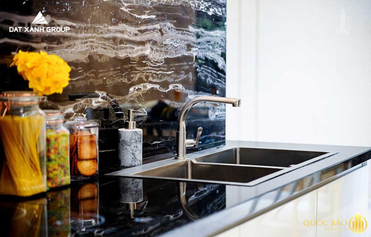 Thiết kế phòng bếp nhà mẫu
