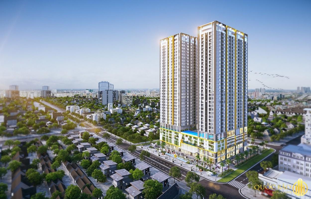 Phối cảnh tổng thể dự án Phú Đông Sky Garden Bình Dương