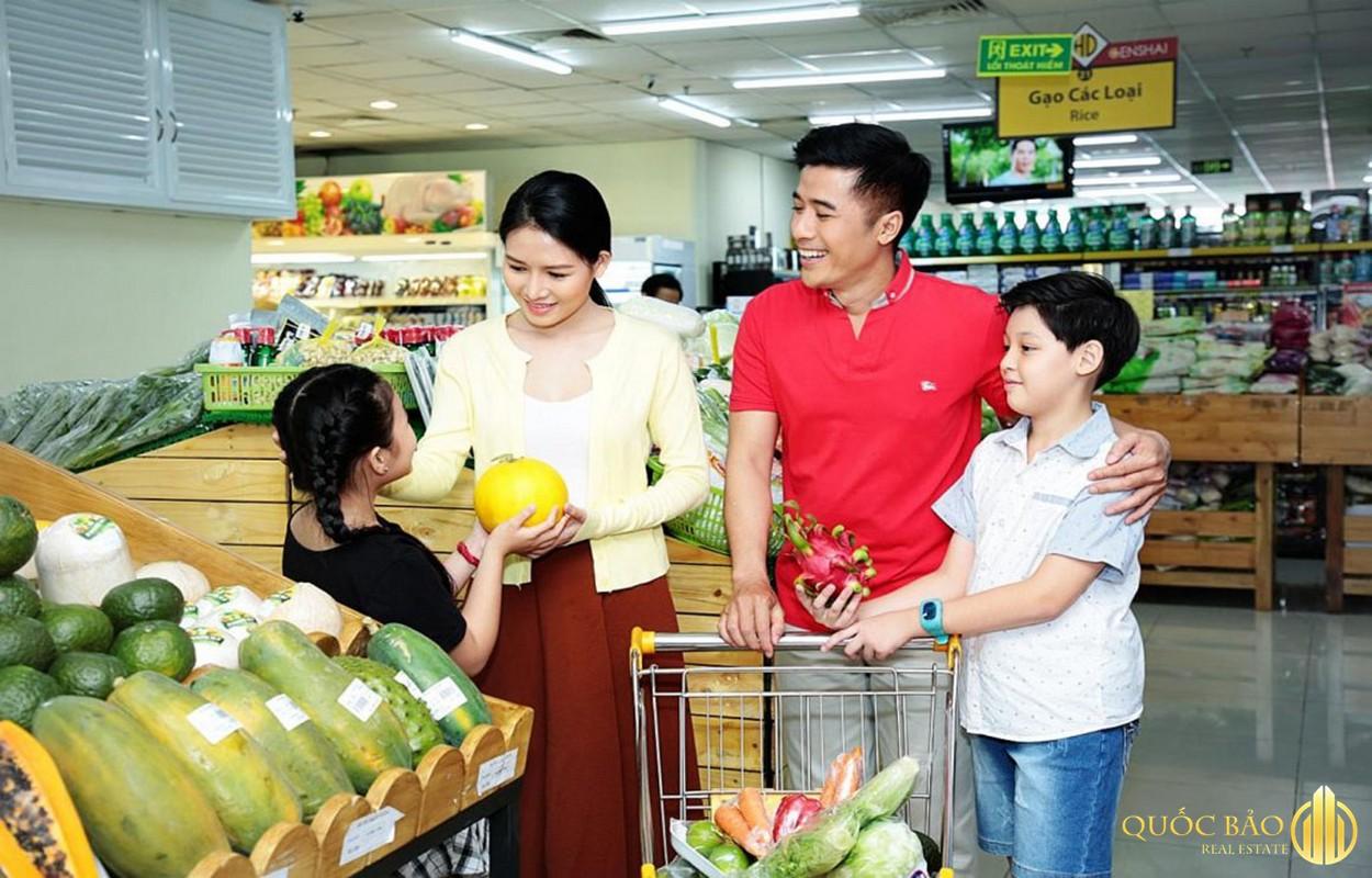 Tiện ích siêu thị nội khu