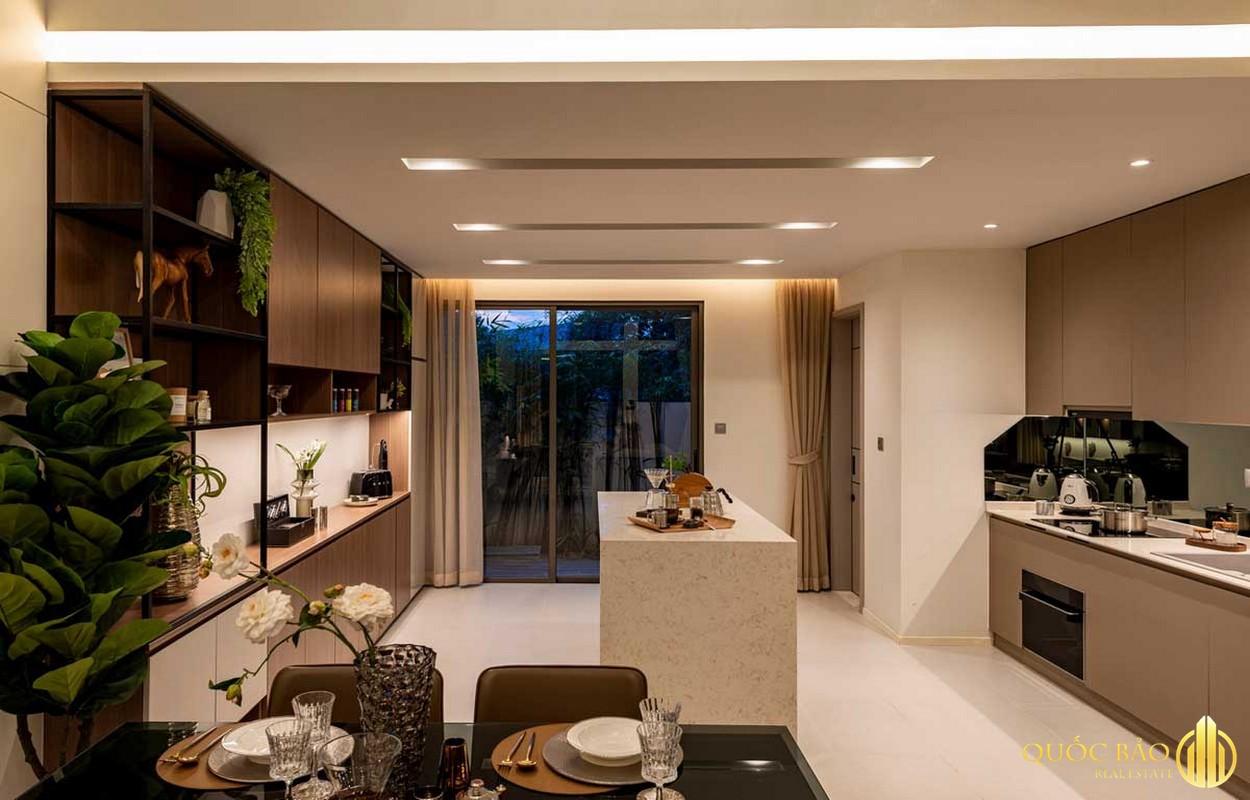 Thiết kế phòng bếp The Standard Central Park Bình Dương