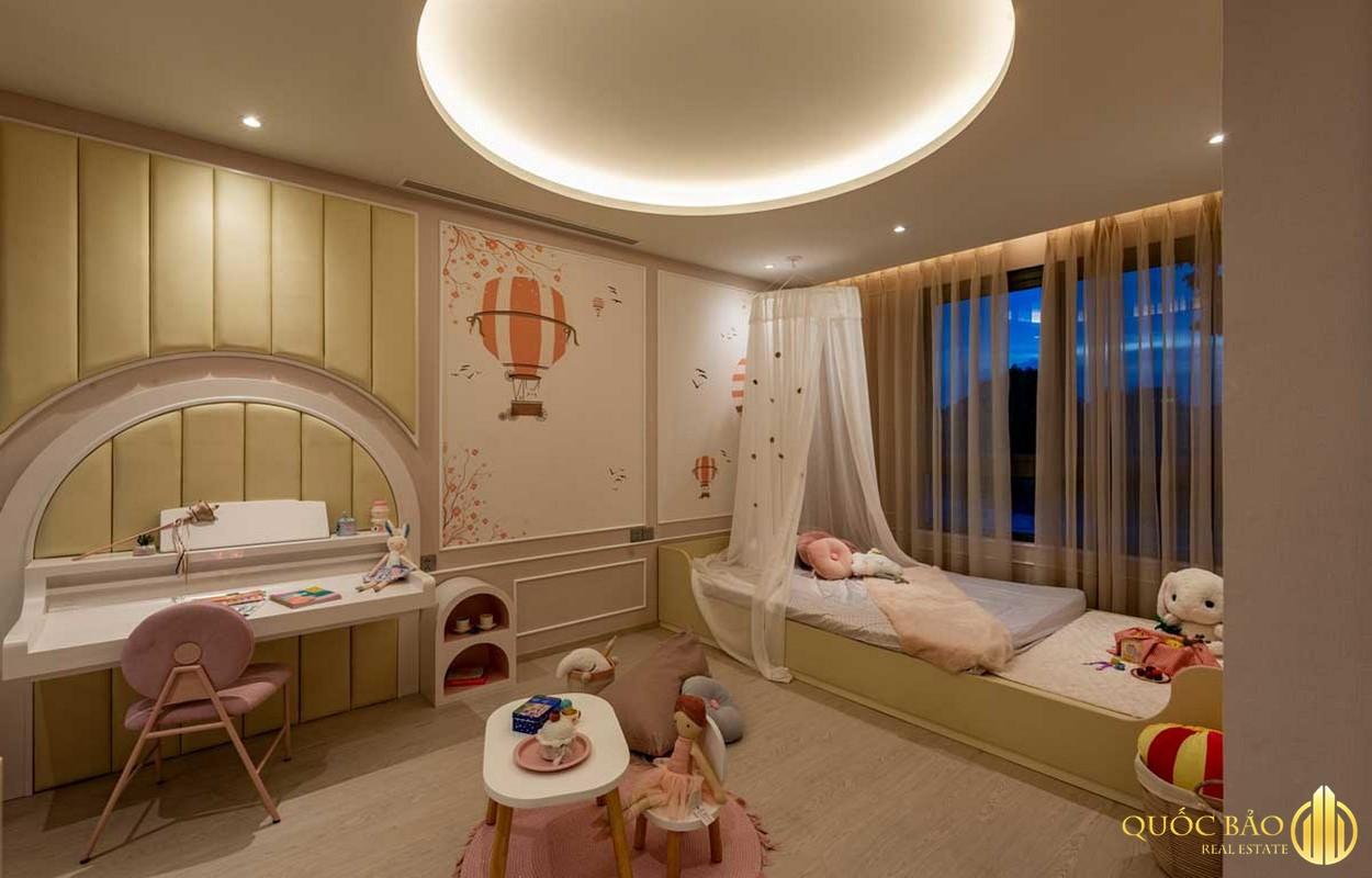 Thiết kế phòng ngủ cho trẻ nhà mẫu