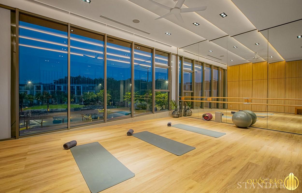 Tiện ích phòng tập Yoga