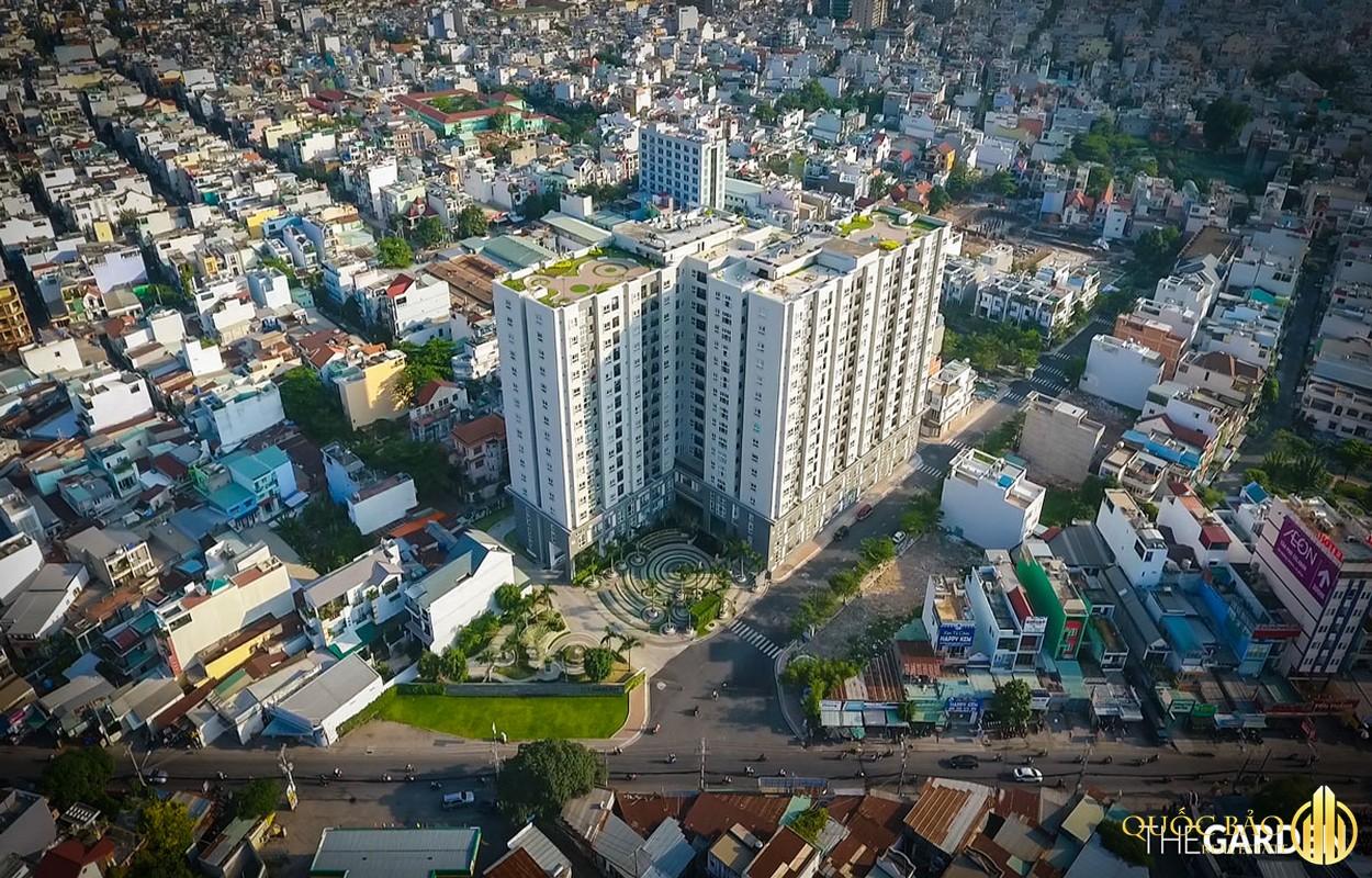 Phối cảnh tổng thể The Garden Tân Phú