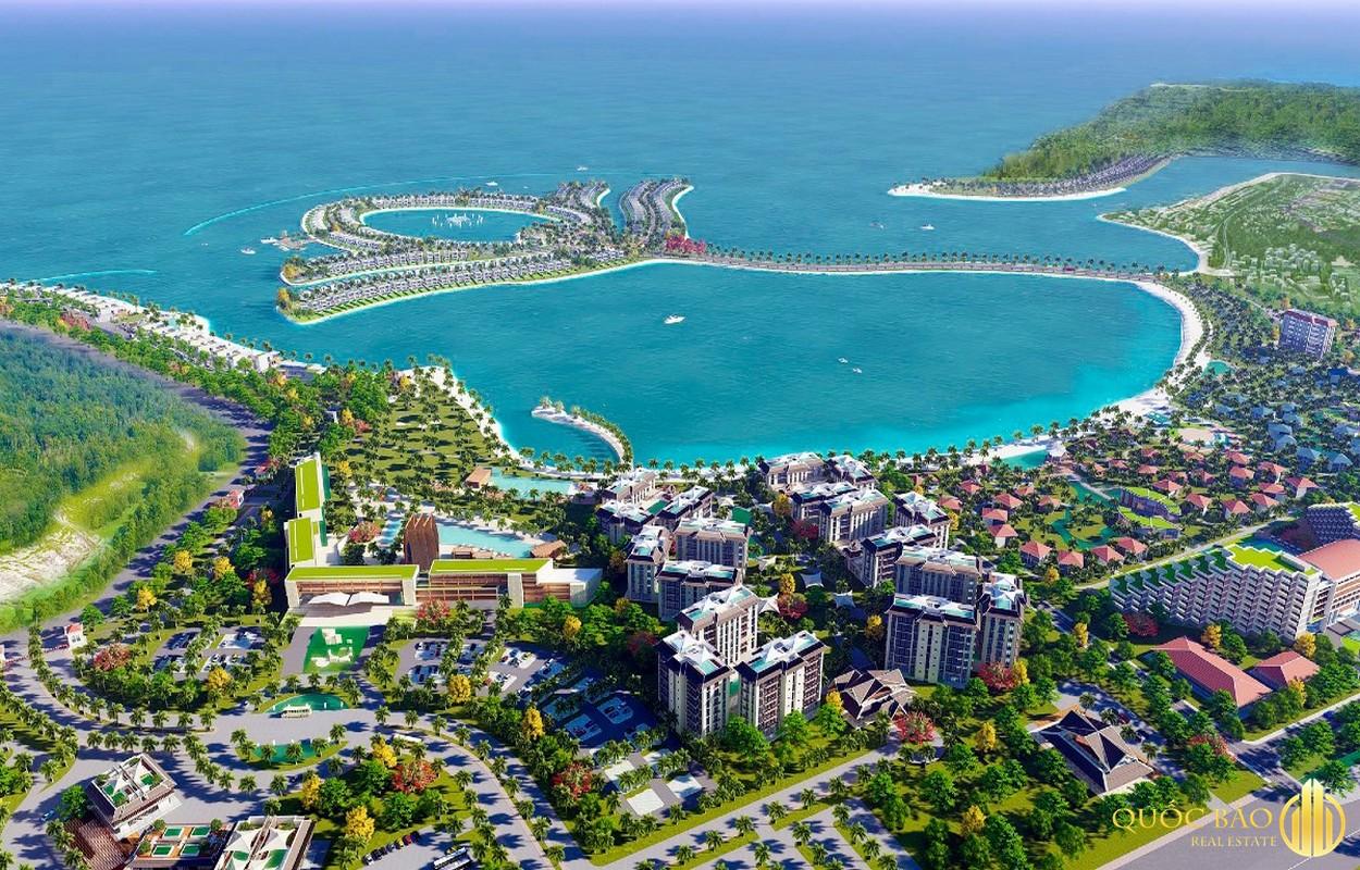 Selavia Bay Phú Quốc nhìn từ trên cao