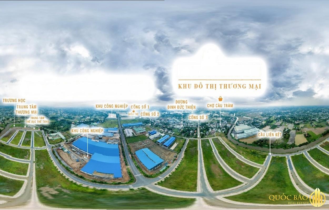 Dự án Khu Dân Cư Cầu Tràm dễ dàng kết nối với các khu vực lân cận