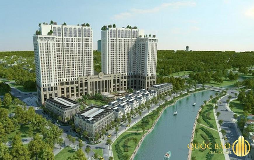 Phối cảnh tổng thể dự án Chung cư Roman Plaza