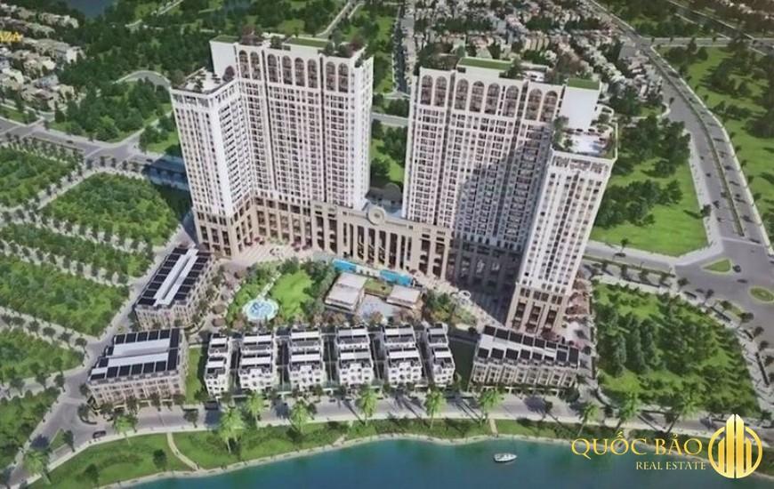 Dự án Chung cư Roman Plaza nhìn từ trên cao