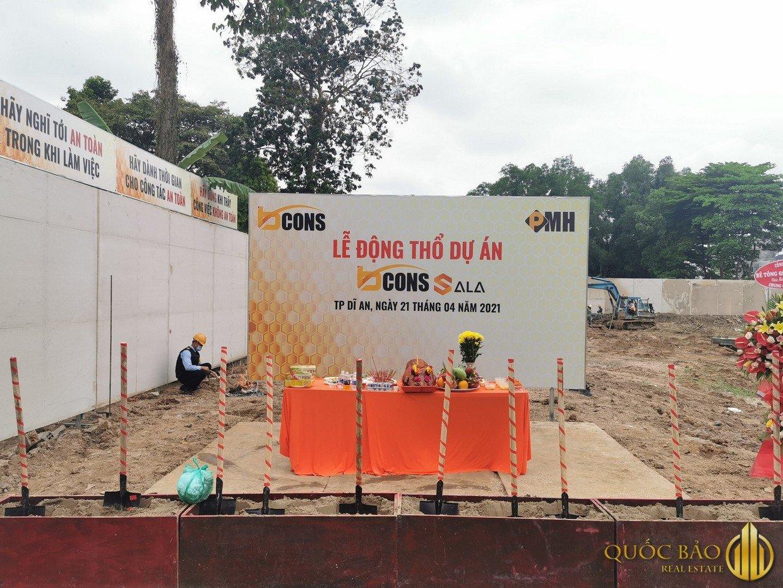 Lễ động thổ dự án Bcons Sala