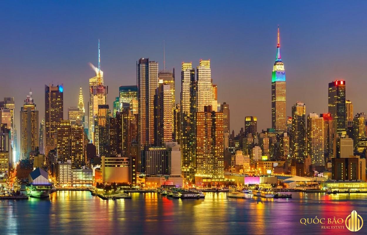Nước Mỹ nổi tiếng với hàng loạt bất động sản cao tầng