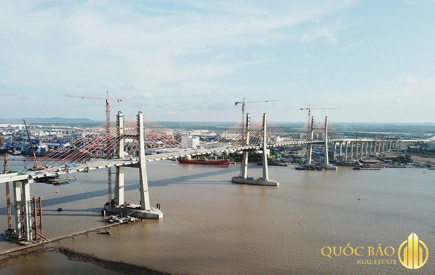 Ảnh thực tế Cầu Bạch Đằng - Cao tốc Hạ Long Hải Phòng