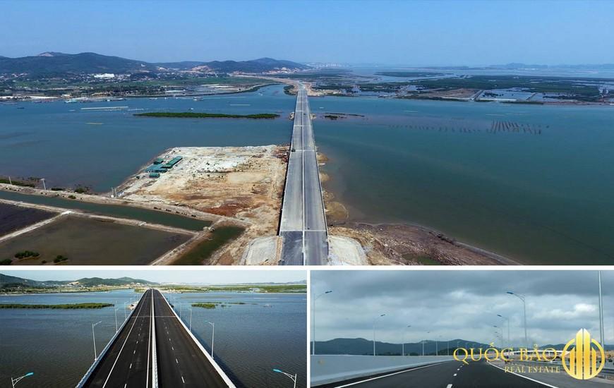 Ảnh thực tế Cao tốc Hạ Long Hải Phòng từ khời công đến hoàn thành