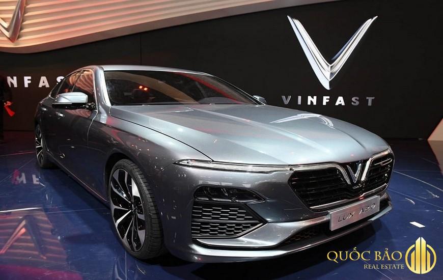 Hệ sinh thái Vingroup sở hữu thương hiệu ô tô VinFast