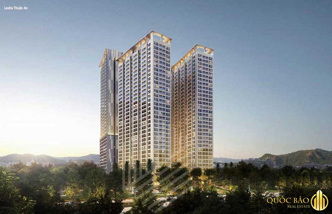 Giá bán Lavita Thuận An từ 32 triệu/m2