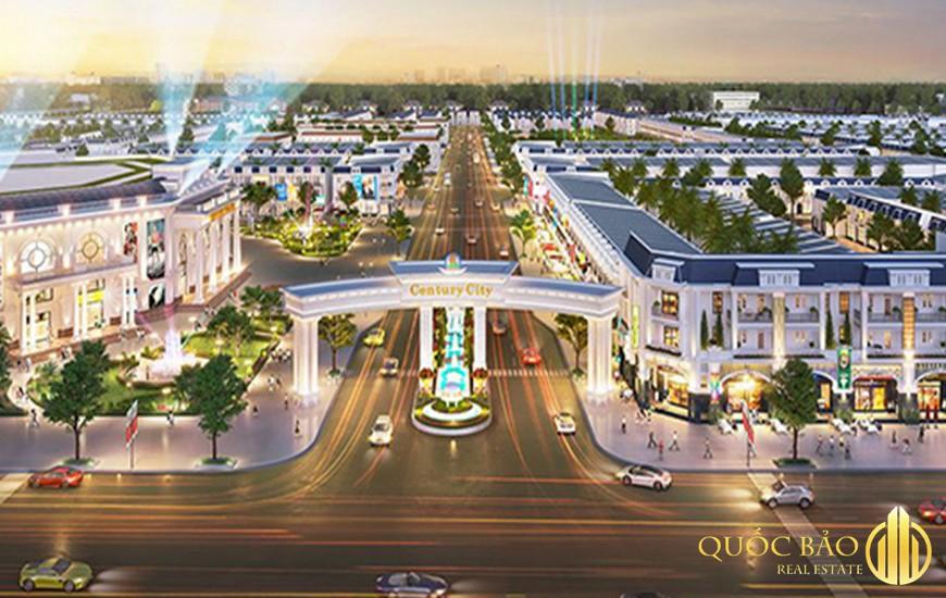 Khu vực cổng chào dự án - Tin tức Pháp Lý Century City