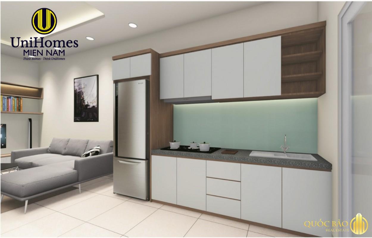 Phòng bếp nhà mẫu Tecco Home