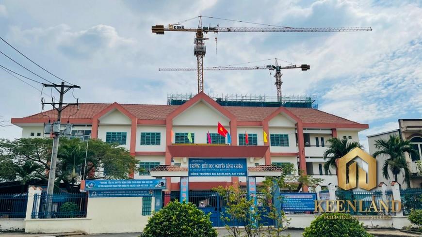 Tiến độ xây dựng Bcons Green View Tháng 1