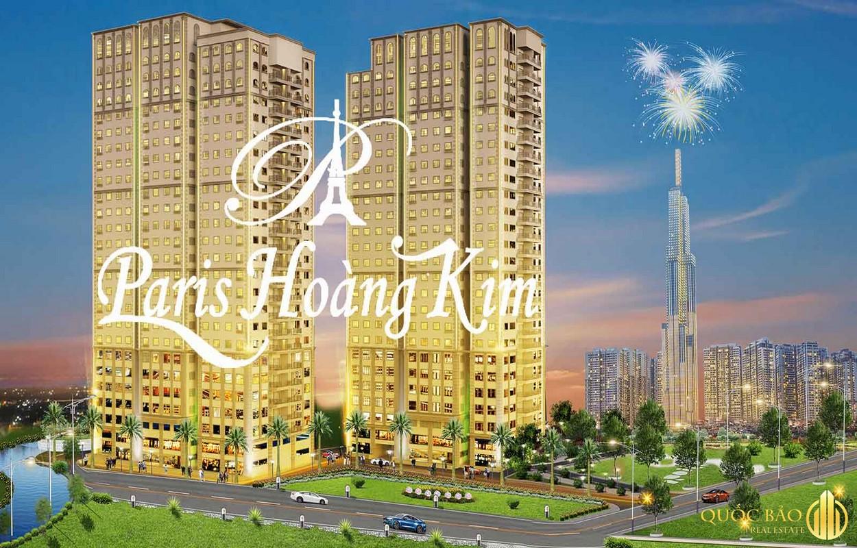 Paris Hoàng Kim -Dự án căn hộ chung cư Quận 2