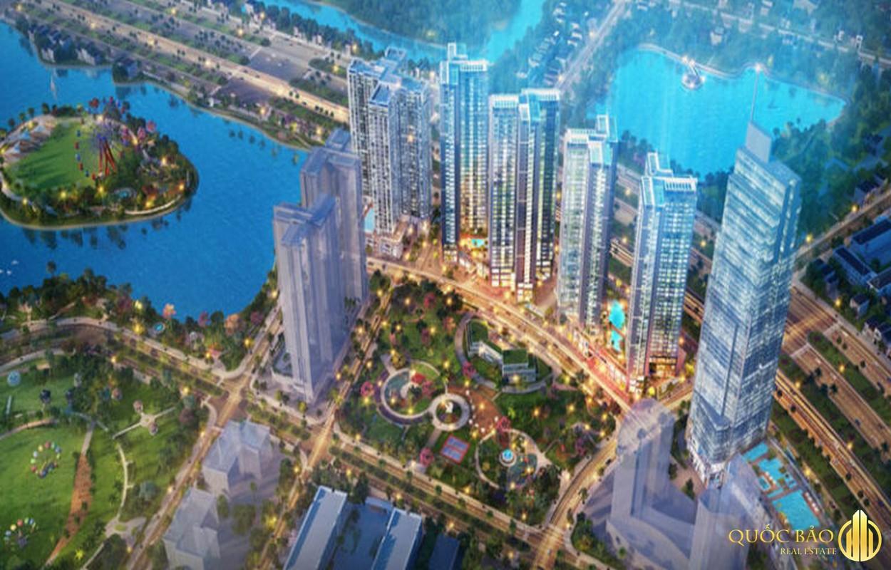 Phối cảnh tổng thể Eco Green Sài Gòn