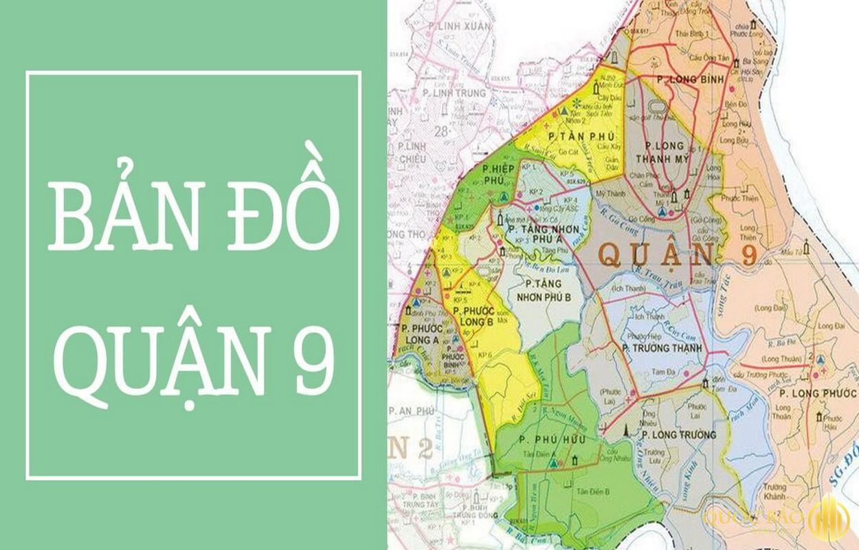 Bản đồ tổng quan quận 9