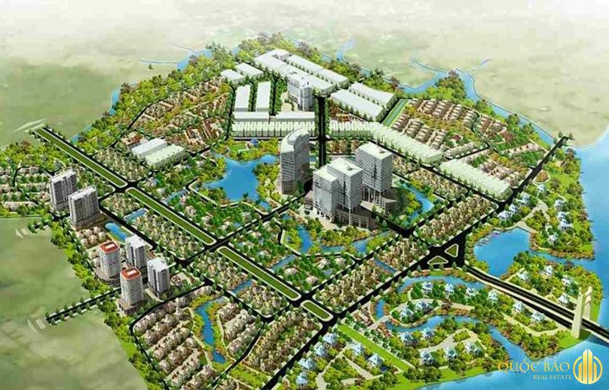Phối cảnh tổng thể The Green Village Khang Điền Bình Chánh