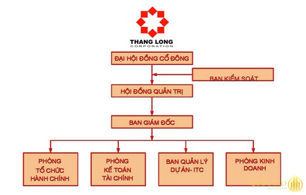 Cơ cấu tổ chức chủ đầu tư ITC