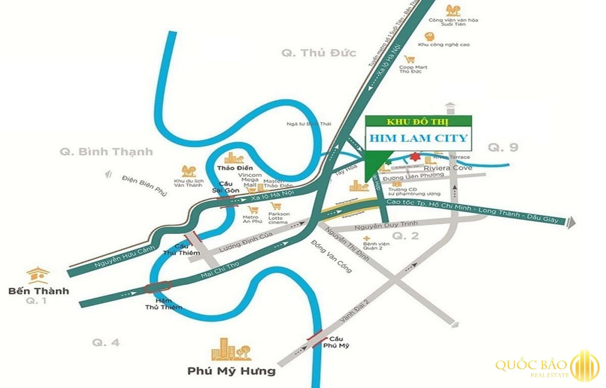 Vị trí Him Lam City
