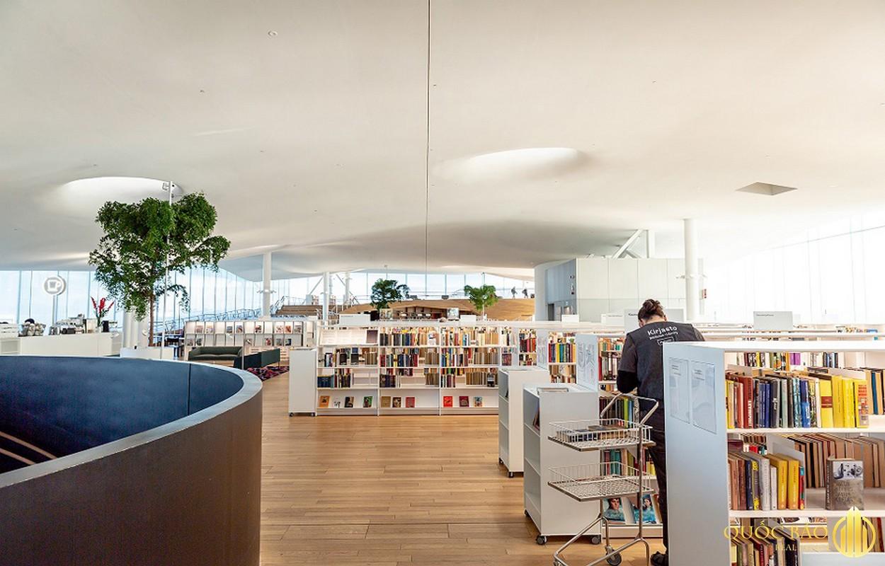 Tiện ích khu thư viện