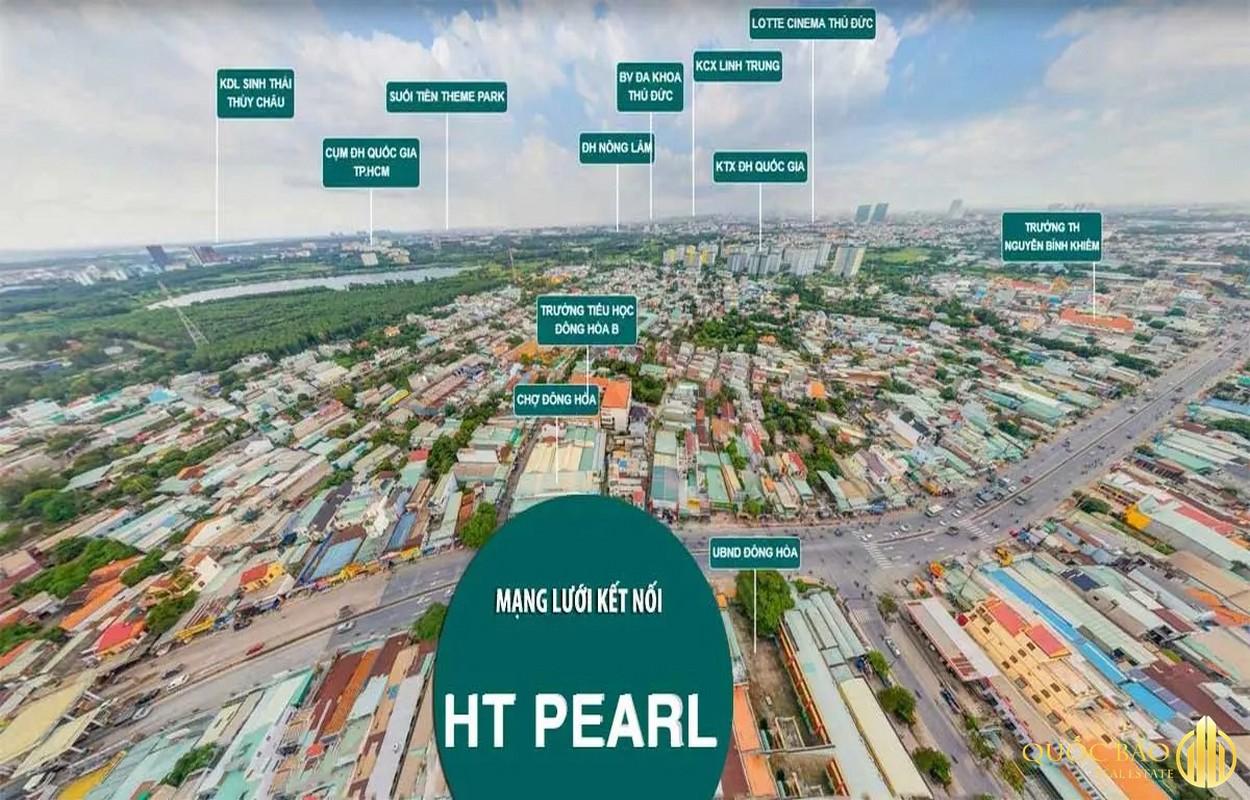 Tiện ích ngoại khu - khả năng liên kết dự án HT Pearl