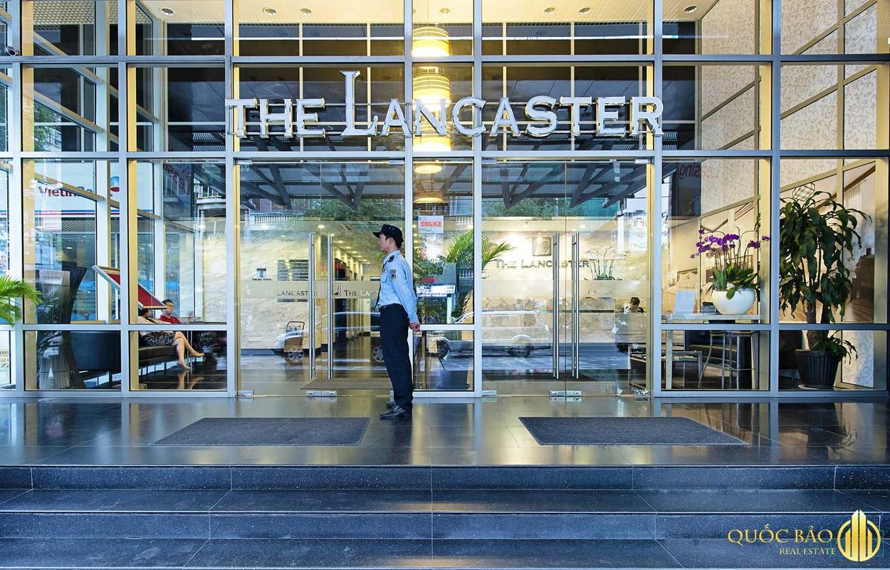 Cổng vào dự án Lancaster Lê Thánh Tôn