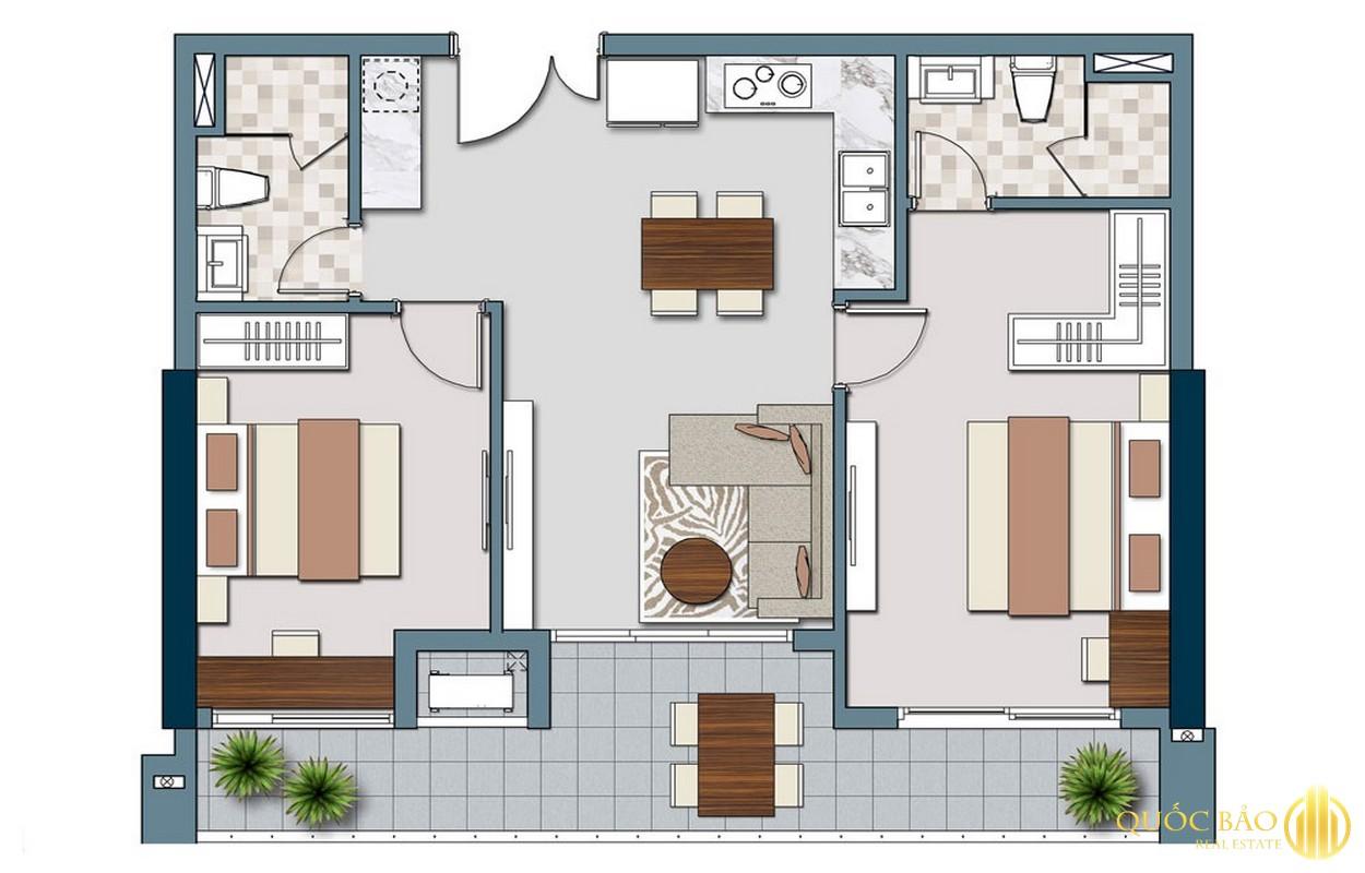 Thiết kế chi tiết căn hộ Lancaster Legacy Quận 1