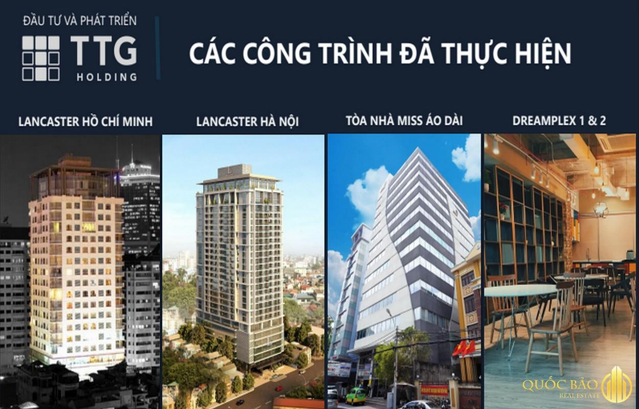 Các dự án nổi bật khác của Trung Thủy Group