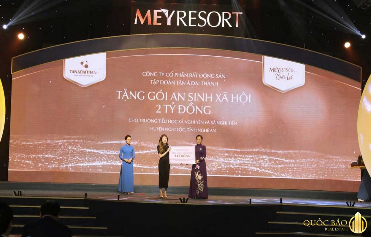 Chủ đầu tư Meyresort làm hoạt động xa hội
