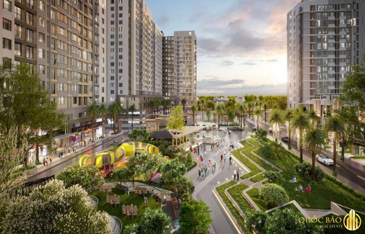 Phối cảnh nội khu dự án Honas Residence