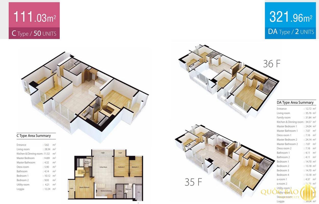 Thiết kế căn hộ Cantavil Quận 2